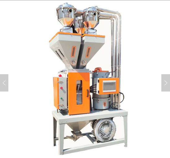 Gravimetric blender is also called Weighing blender,plastic dosing unit,Gravimetric dosing system,Gravimetric batch blender,batch blender;